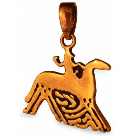 Odin auf Pferd Sleipnir (klein)