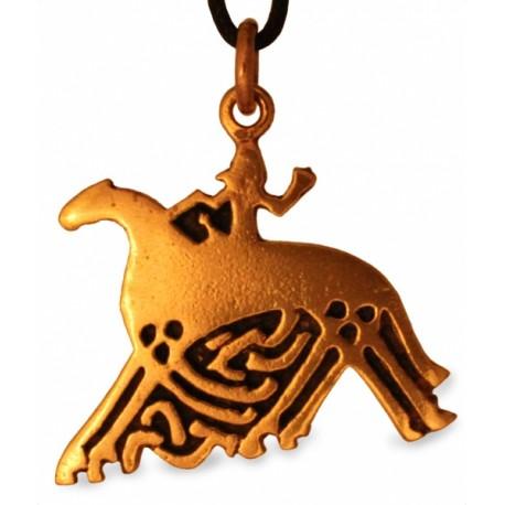 Odin auf Pferd Sleipnir (groß)