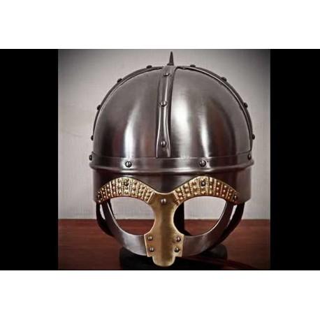Helm Gjermundbu mit Maske aus Tjele Version 2