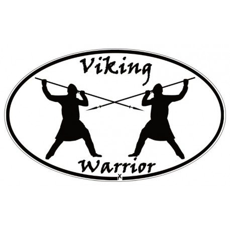Aufkleber Viking Warrior